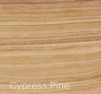 Cypress Pine Is An Australian Softwood, Despite Its Apparent Hardness. It  Varies In Colour From Pale Yellow To Variegated Browns In Colour.