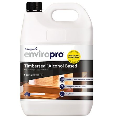 Intergrain Enviropro Timberseal Alcohol Based