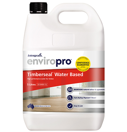 Intergrain Enviropro Timberseal Water Based